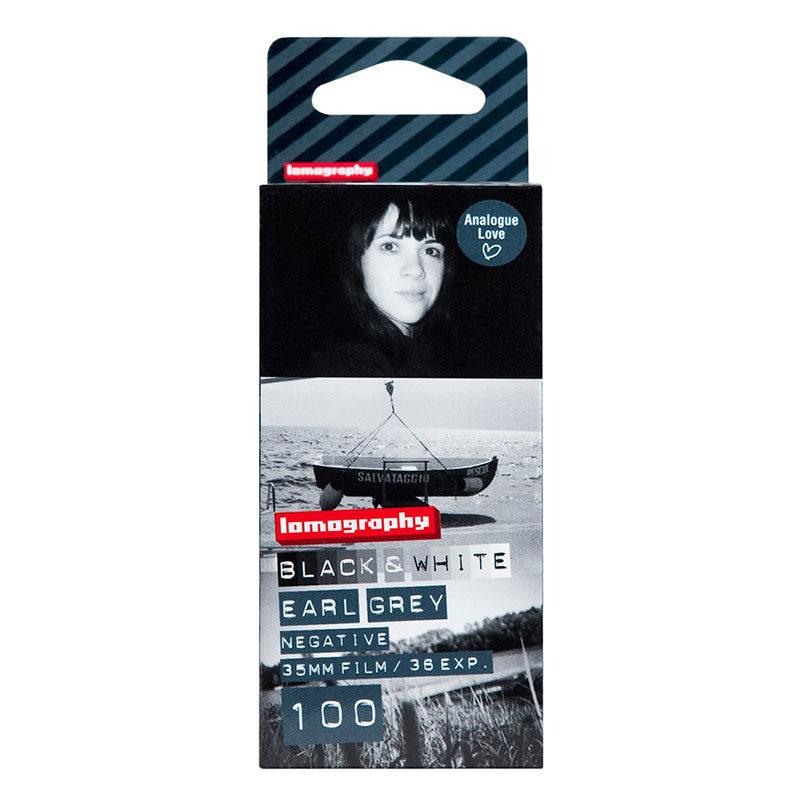 Lomography Earl Grey B&W 100 ISO 35mm fotorolletje - 3 stuks