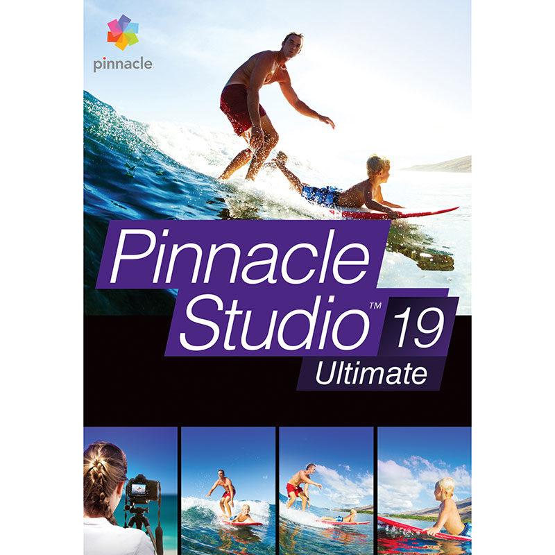 Foto van Pinnacle Studio 19 Ultimate NL/FR Windows - POSA