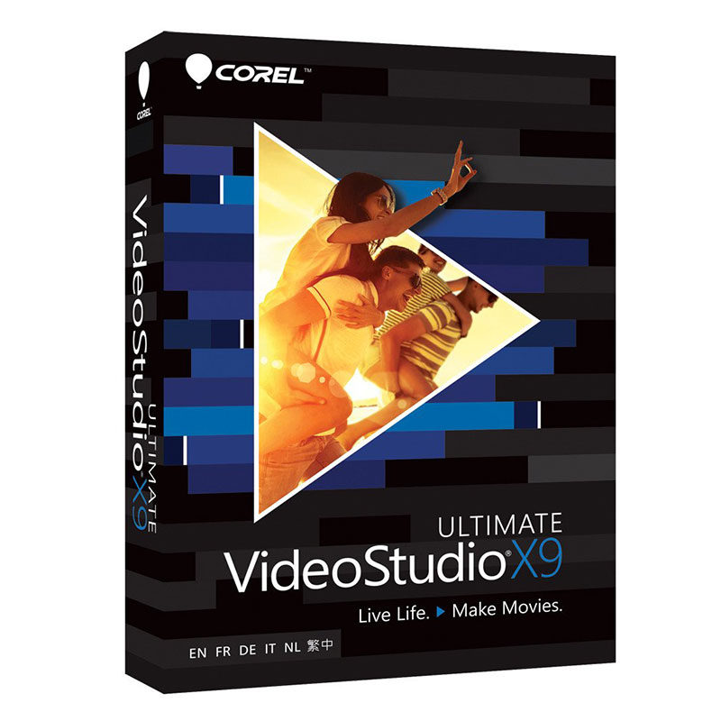 Foto van Corel VideoStudio X9 Ultimate NL Windows - POSA