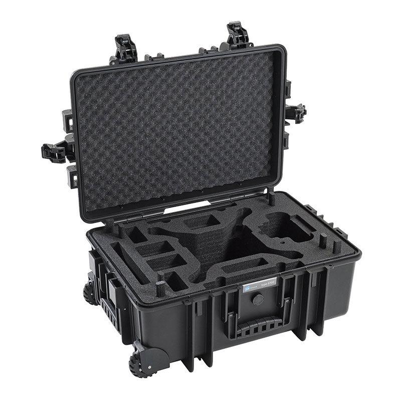 Foto van B&W Copter Case Type 6700 Zwart Hardfoam voor DJI Phantom 4