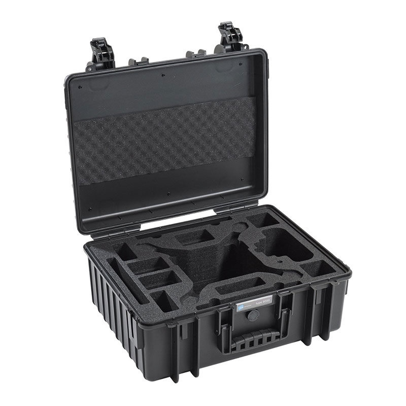 Foto van B&W Copter Case Type 6000 Zwart voor DJI Phantom 4