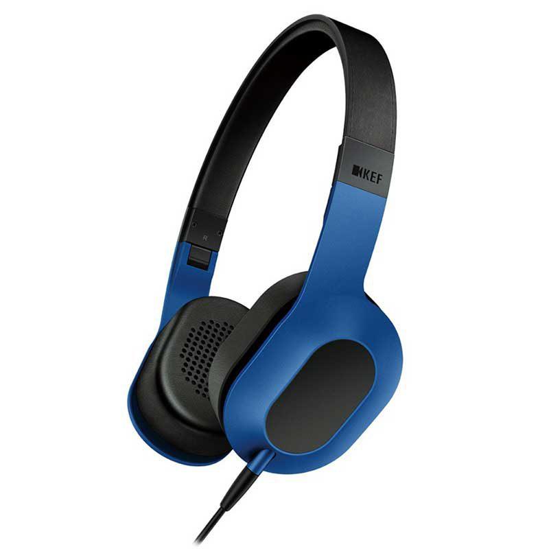 Foto van KEF M400 Hi-Fi On-Ear koptelefoon Blauw