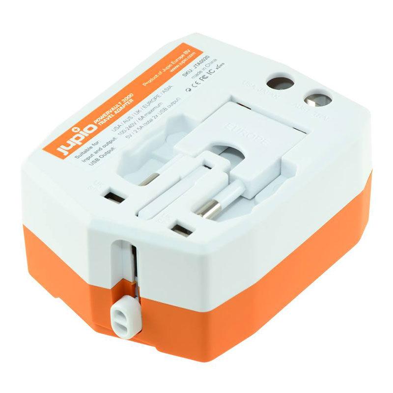 Jupio PowerVault 3000 reis-adapter en powerbank