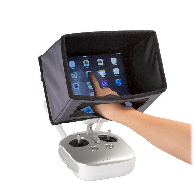 Hoodman Drone Aviator hood voor iPad Air en Air 2