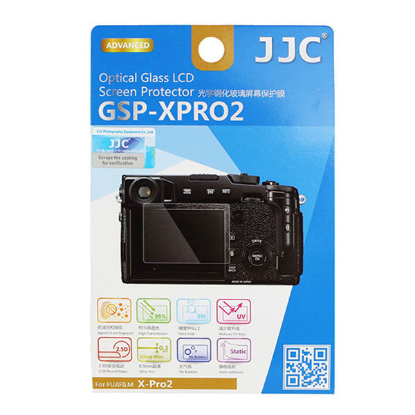 JJC GSP-XPRO2 Optical Glass Protector voor Fujifilm X-Pro2