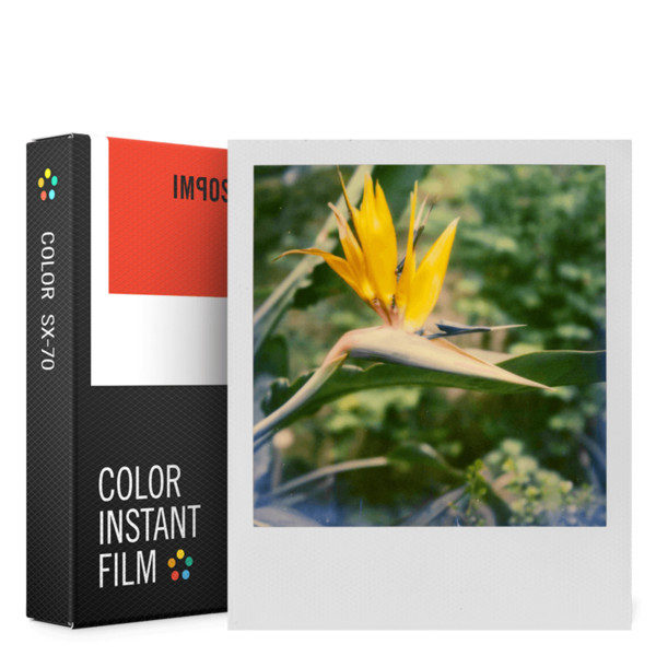 Foto van Impossible Color Film with White Frame for SX70