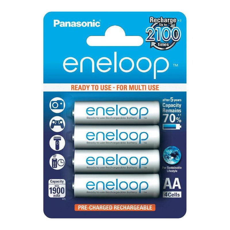 Image of 1x4 Panasonic Eneloop Mignon AA 1900 mAh