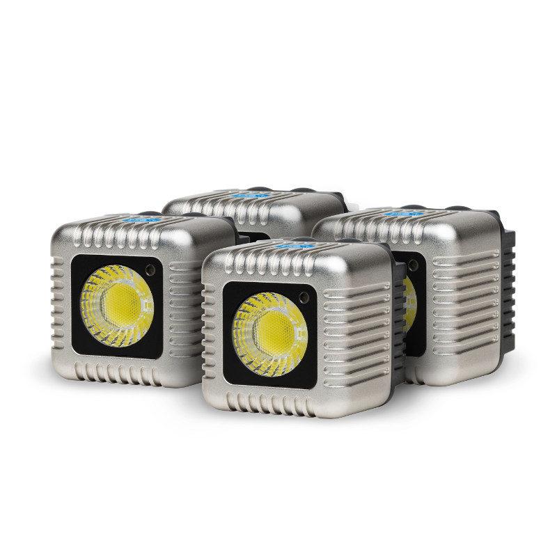 Foto van Lume Cube Quad Cube Pack Silver - 4 stuks