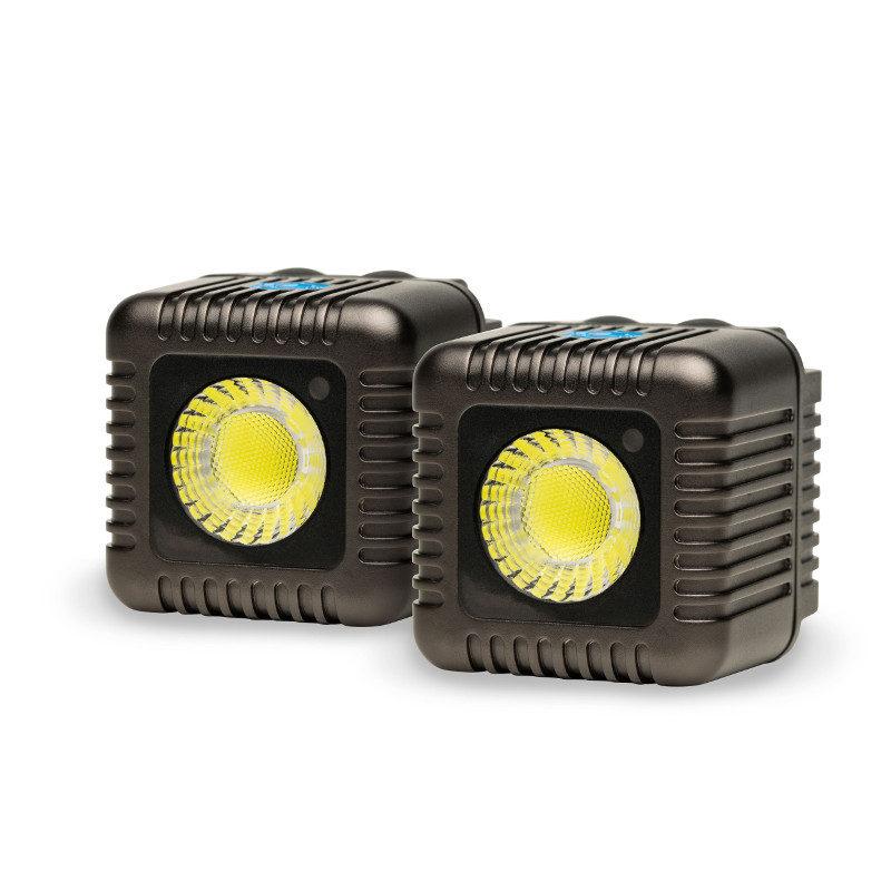 Foto van Lume Cube Dual Cube Pack Gunmetal Grey - 2 stuks