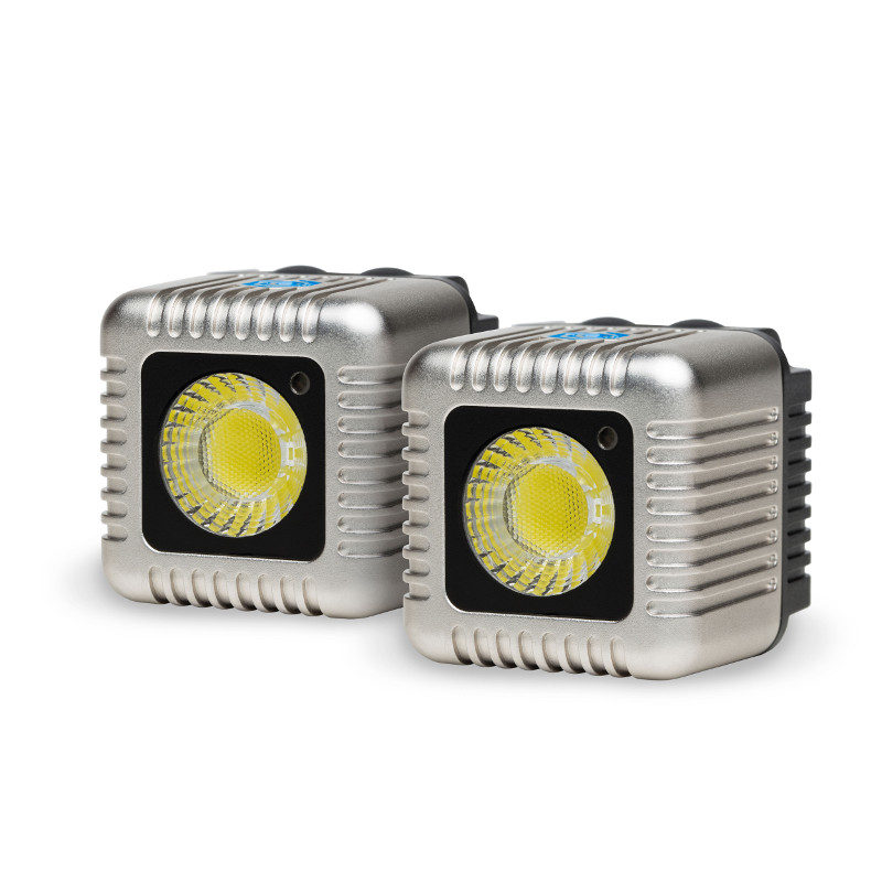 Foto van Lume Cube Dual Cube Pack Silver - 2 stuks