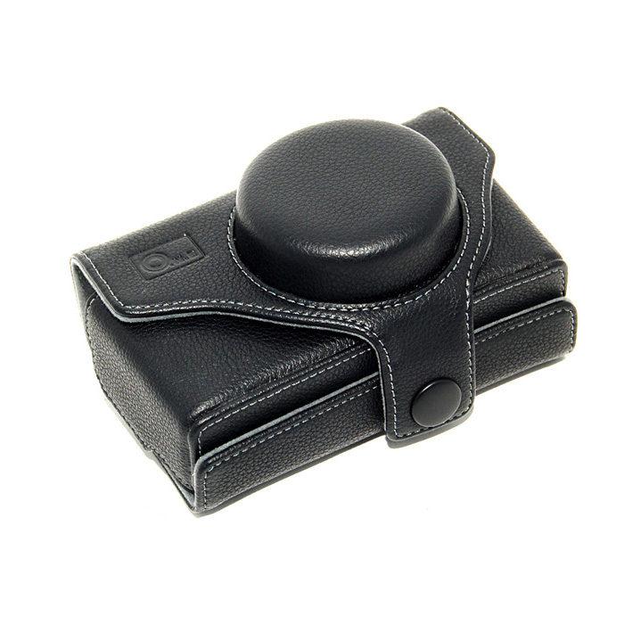 ONE OC-DP1B Leathercase voor de Sigma DP1 en DP2 zwart