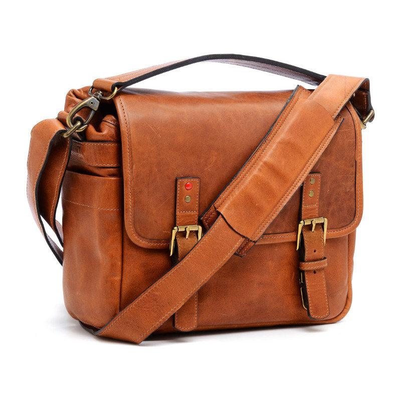 Foto van ONA The Berlin II Vintage Bourbon Messenger Bag