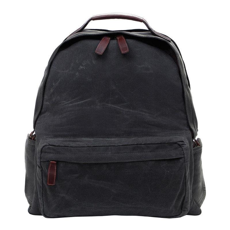 Foto van ONA The Bolton Street Black Backpack