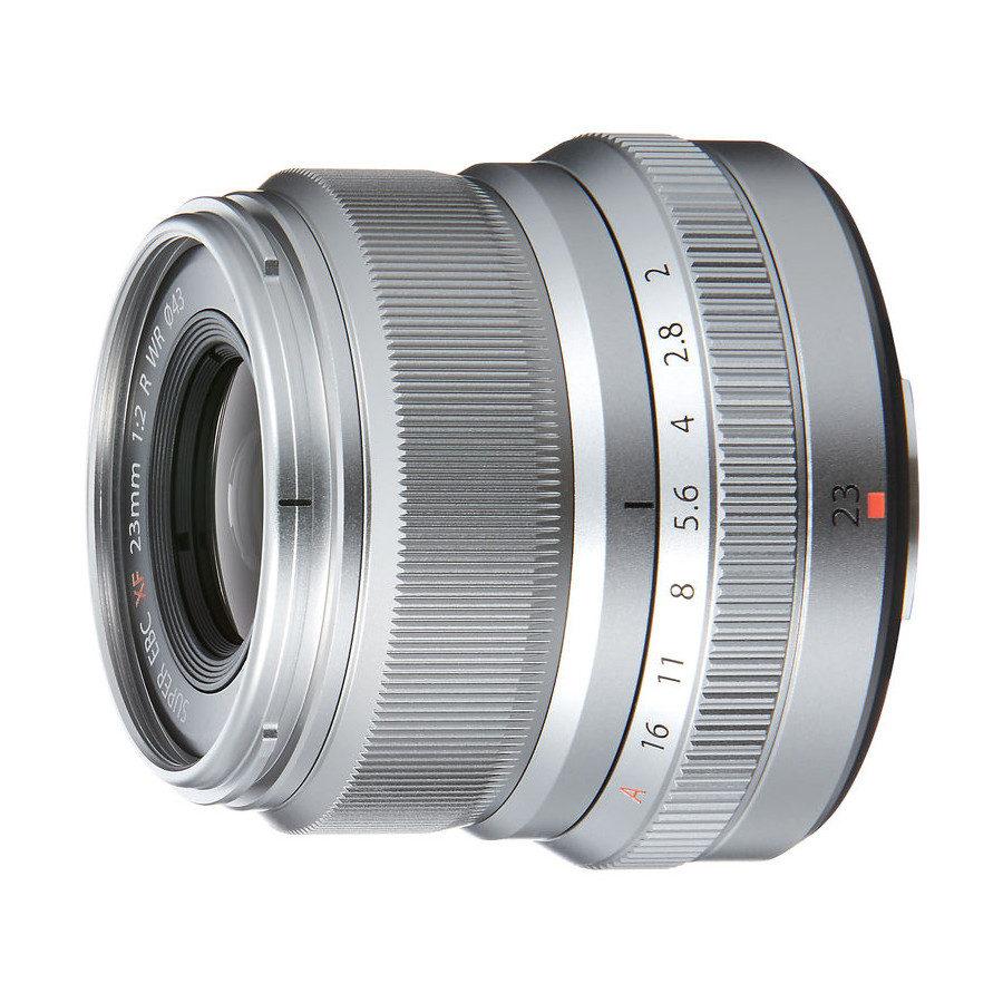 Fujifilm XF 23mm F-2.0 R WR zilver