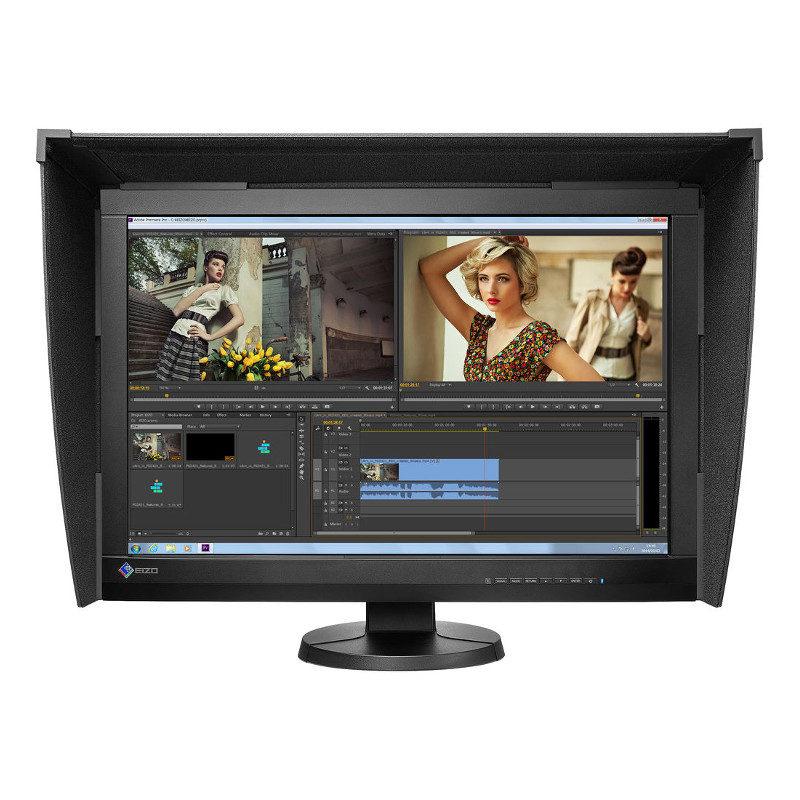 Foto van Eizo CG247X-BK 24 inch monitor