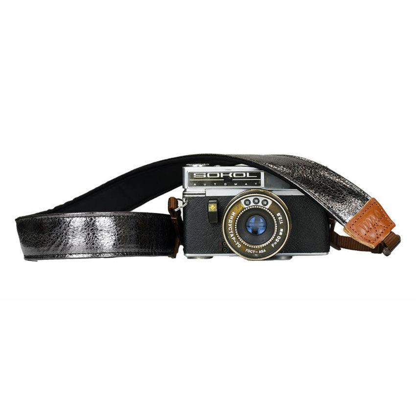Foto van iMo Metalen Spiegel Neopreen Camera Strap