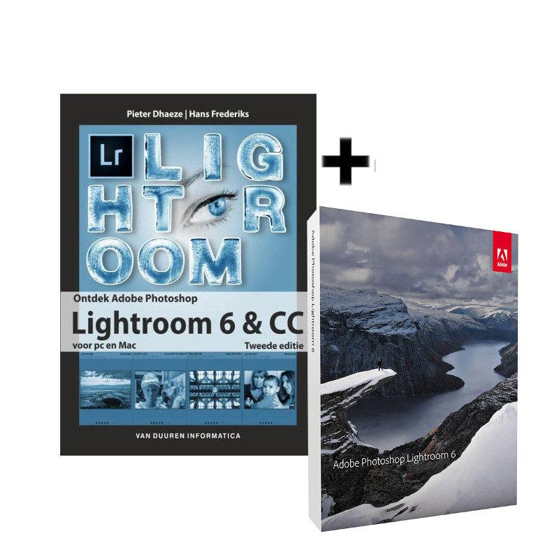 Foto van Adobe Photoshop Lightroom 6 NL Mac/Windows + Ontdek Lightroom 6 en CC