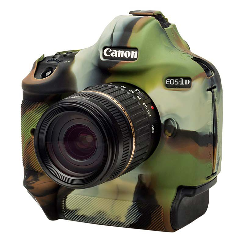 Foto van Easycover Cameracase Canon EOS 1DX Mark II Camouflage