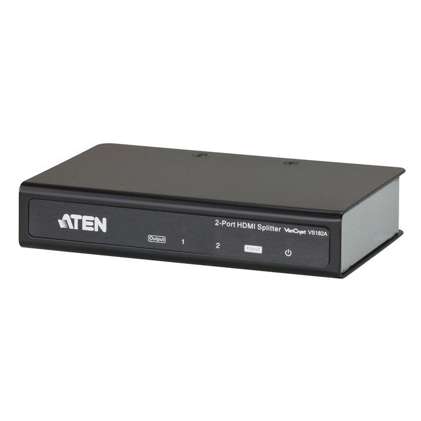 Foto van Aten 2-poorts HDMI splitter