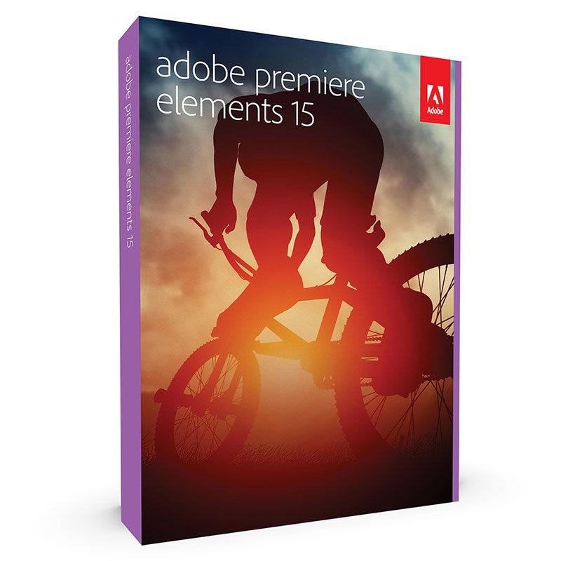 Foto van Adobe Premiere Elements 15 UK Mac / Windows