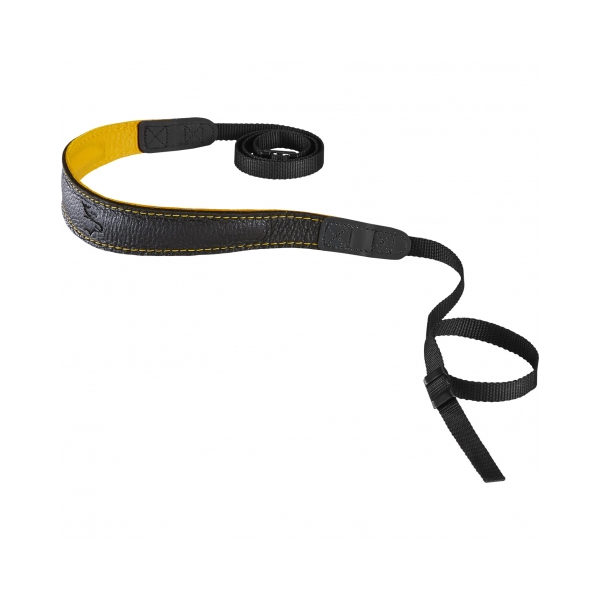 Eddycam Fashion -2- 33mm schouderriem Black / Yellow