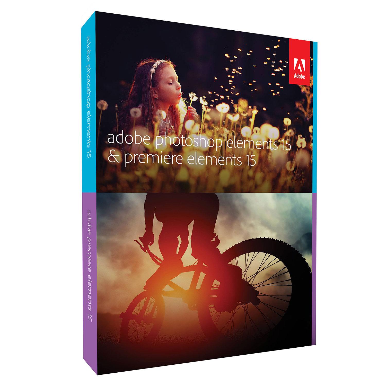 Foto van Adobe Photoshop Elements 15 + Premiere Elements 15 UK Mac
