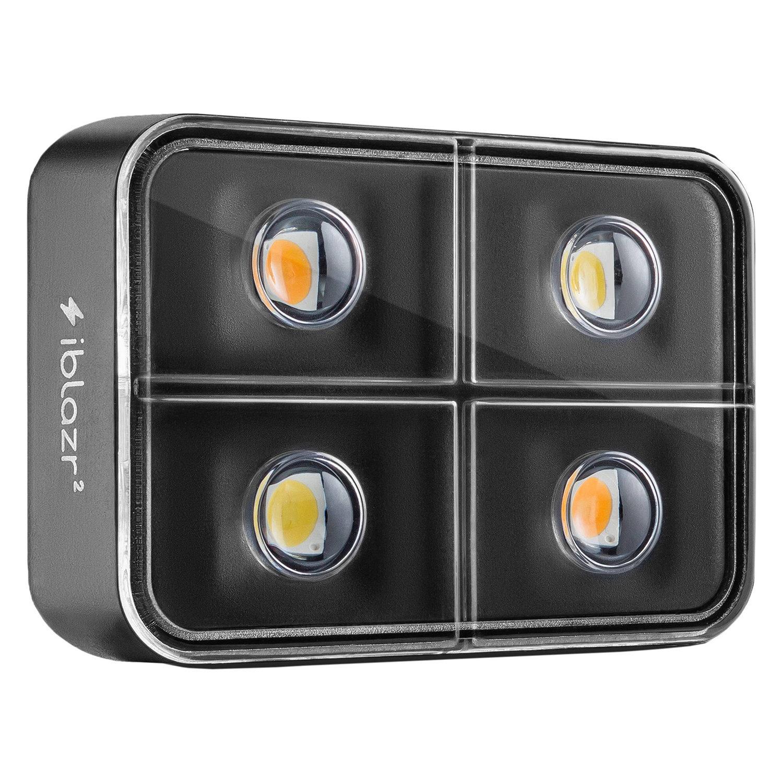 Foto van iBlazr 2 draadloze LED-flitser voor smartphones en tablets Zwart