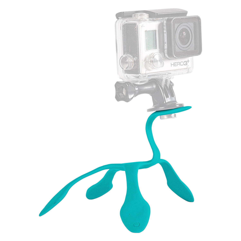 Foto van Miggo Splat Flexible Tripod voor Action Cam Glow