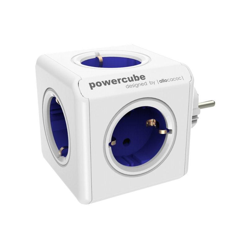 Image of Allocacoc PowerCube Original Blauw