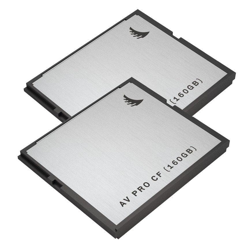 Image of Angelbird 160GB AVpro CFast geheugenkaart - 2 stuks