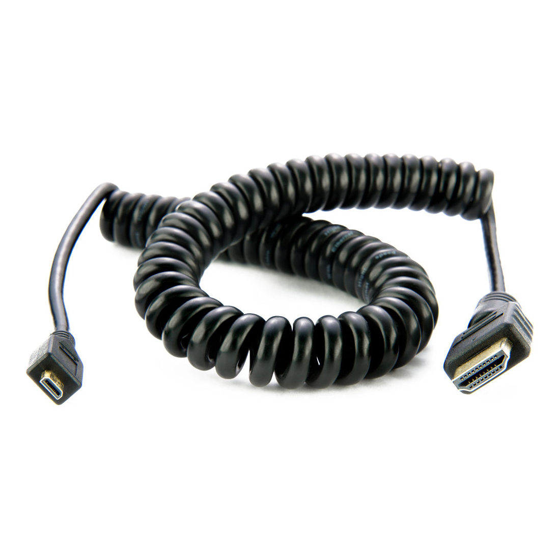 Foto van Atomos Full HDMI - Micro HDMI-kabel 40cm 4K60p Coiled