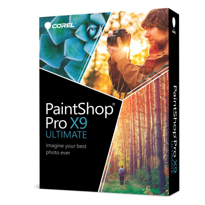 Foto van Corel PaintShop Pro X9 Ultimate NL Windows - POSA