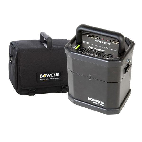 Foto van Bowens Travelpak Battery System Kit Large