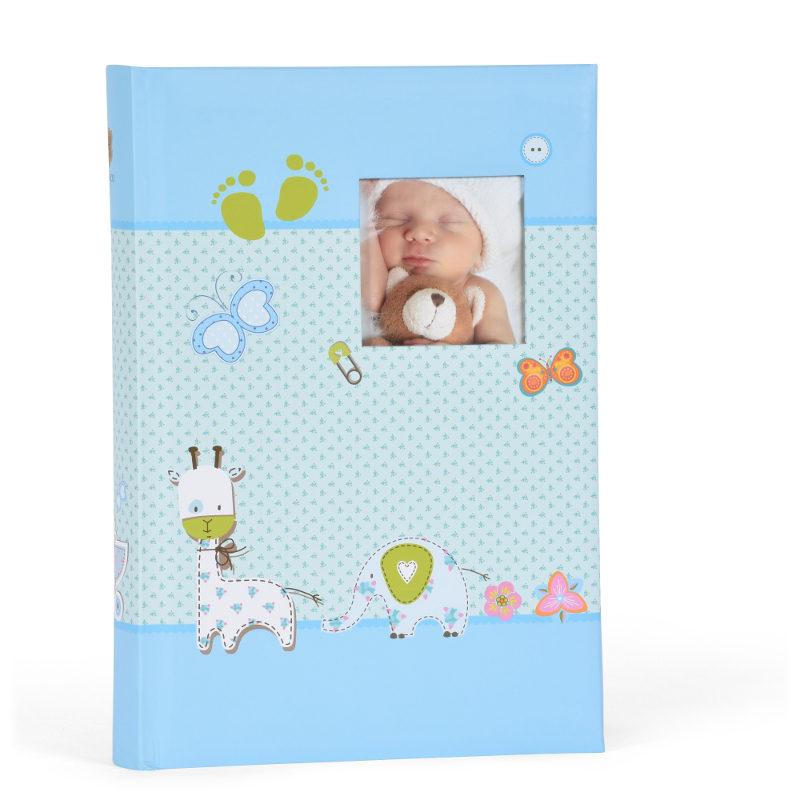 Henzo Baby Moments Slip In Fotoboek Blauw 300 Cameranunl