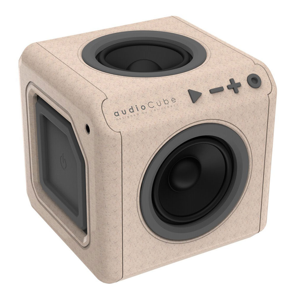Image of allocacoc AudioCube Portable Wood Edition