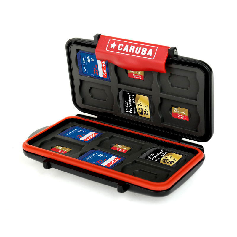 Memory Card Case - 10 Christmas Gift Ideas for your travel buddy.