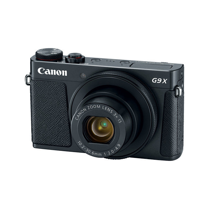 Canon Powershot G9 X Mark II compact camera Zwart