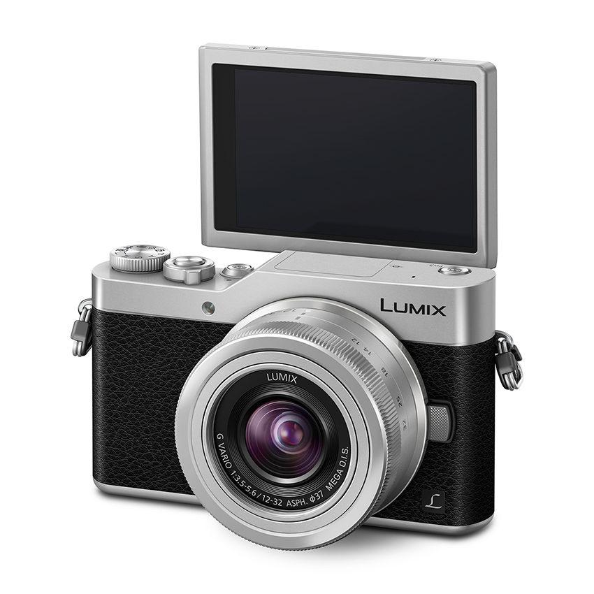Panasonic Lumix DMC-GX800 + 12-32 Zwart-Zilver