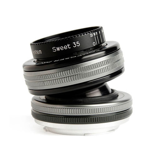 Foto van Lensbaby Composer Pro II met Sweet 35 Optic Micro Four Thirds objectief