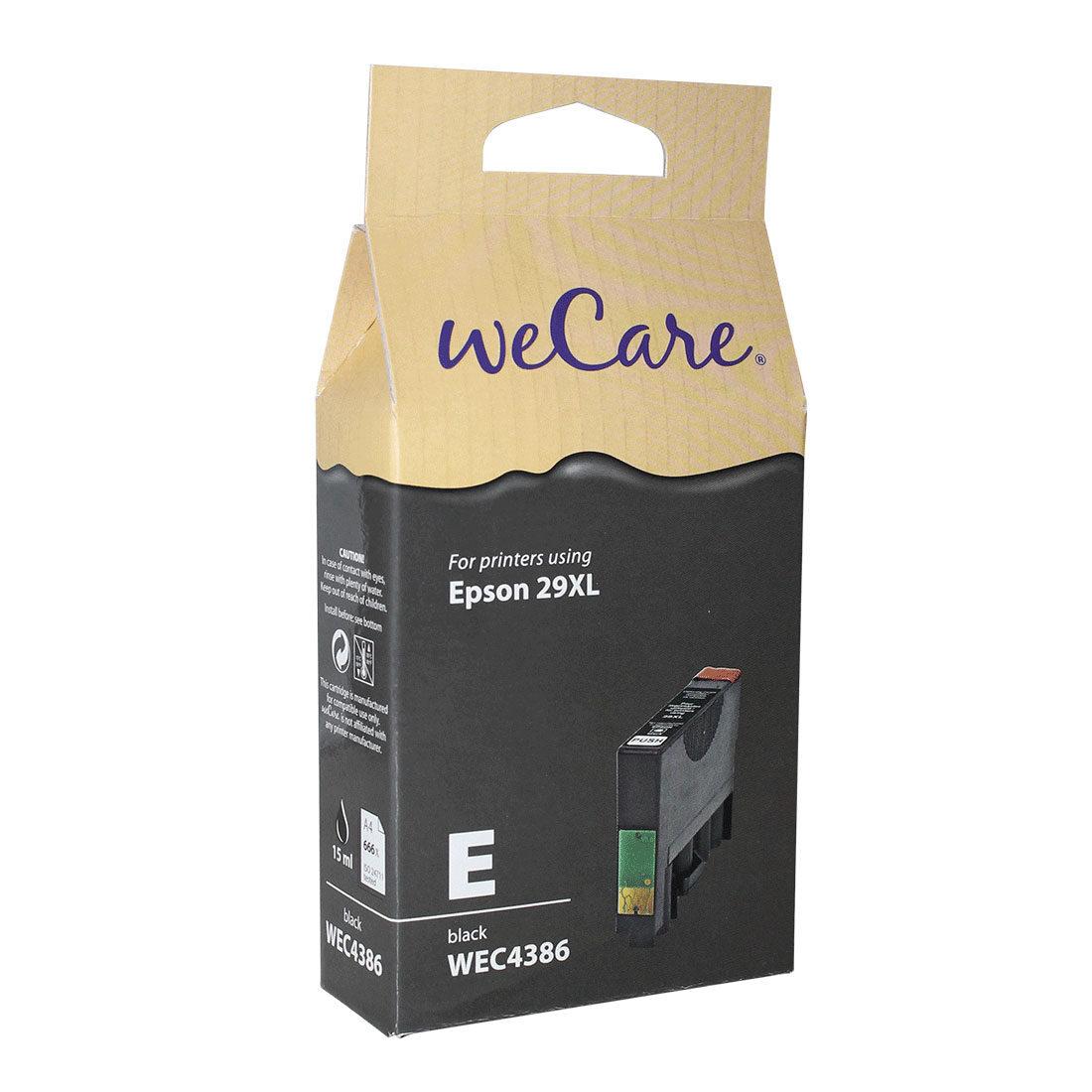 Foto van WeCare Epson Inktpatroon 29XL - Zwart