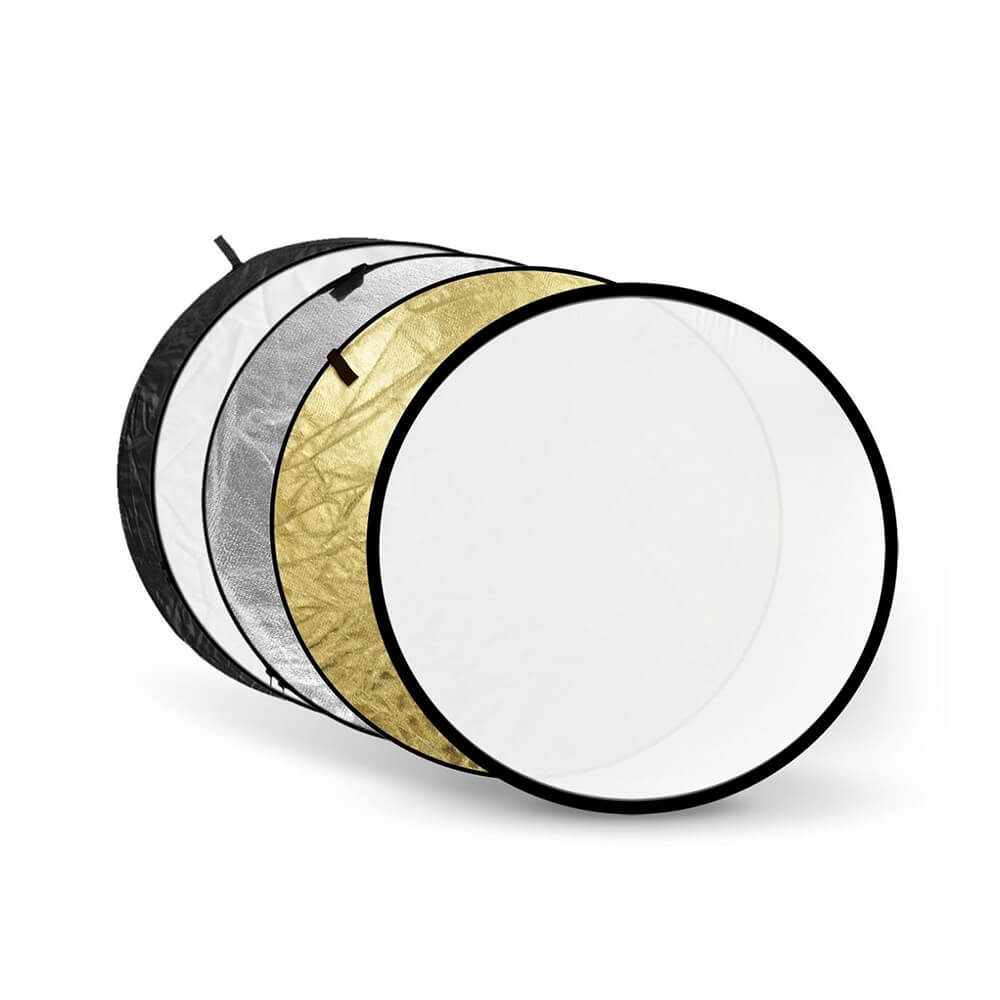 Foto van Godox 5-in-1 Black, Silver, Soft Gold, White, Translucent - 60cm