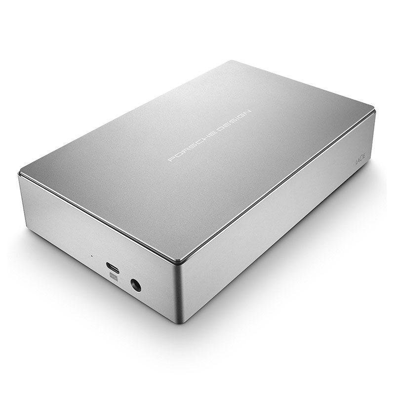 Foto van LaCie Porsche Design Desktop Drive 5TB USB 3.1 harde schijf