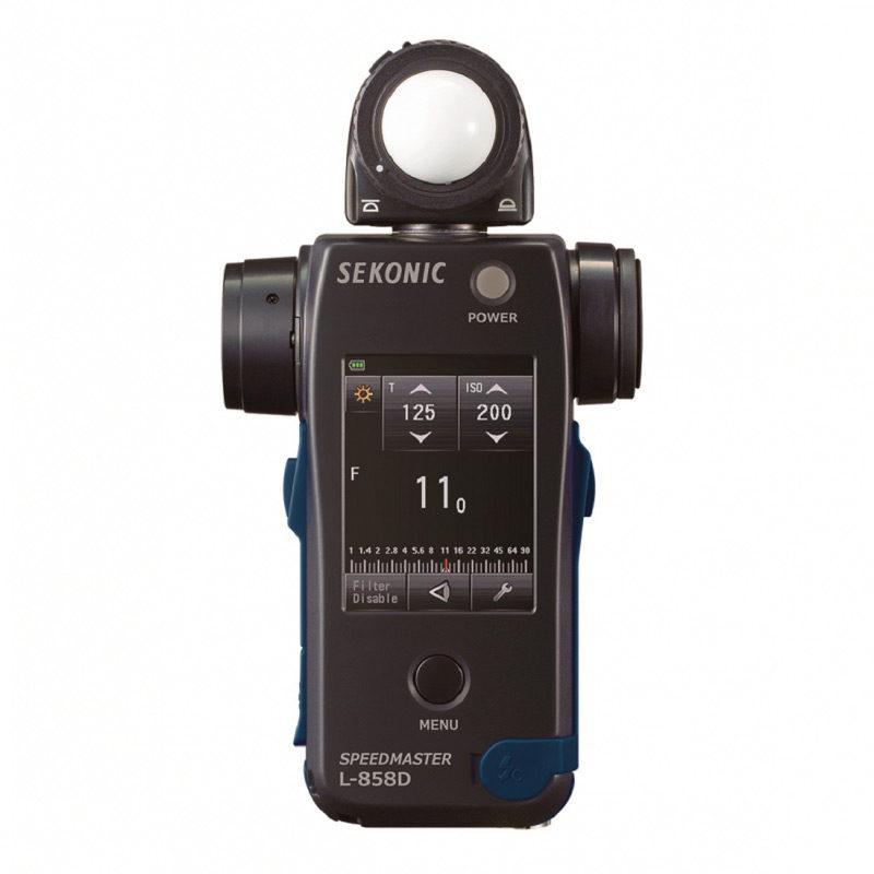 Foto van Sekonic L-858D SpeedMaster lichtmeter