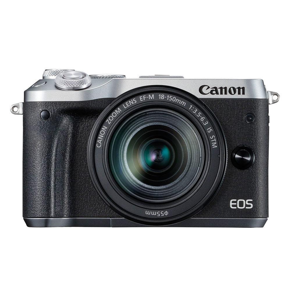 Canon EOS M6 systeemcamera Zilver + 18-150mm IS STM <br/>€ 769.00 <br/> <a href='https://www.cameranu.nl/fotografie/?tt=12190_474631_241358_&r=https%3A%2F%2Fwww.cameranu.nl%2Fnl%2Fp1545125%2Fcanon-eos-m6-systeemcamera-zilver-18-150mm-is-stm%3Fchannable%3De10841.MTU0NTEyNQ%26utm_campaign%3D%26utm_content%3DEOS%2BM%2Bsysteemcamera%26utm_source%3DTradetracker%26utm_medium%3Dcpc%26utm_term%3DDigitale%2Bcamera%26apos%3Bs' target='_blank'>naar de winkel</a>