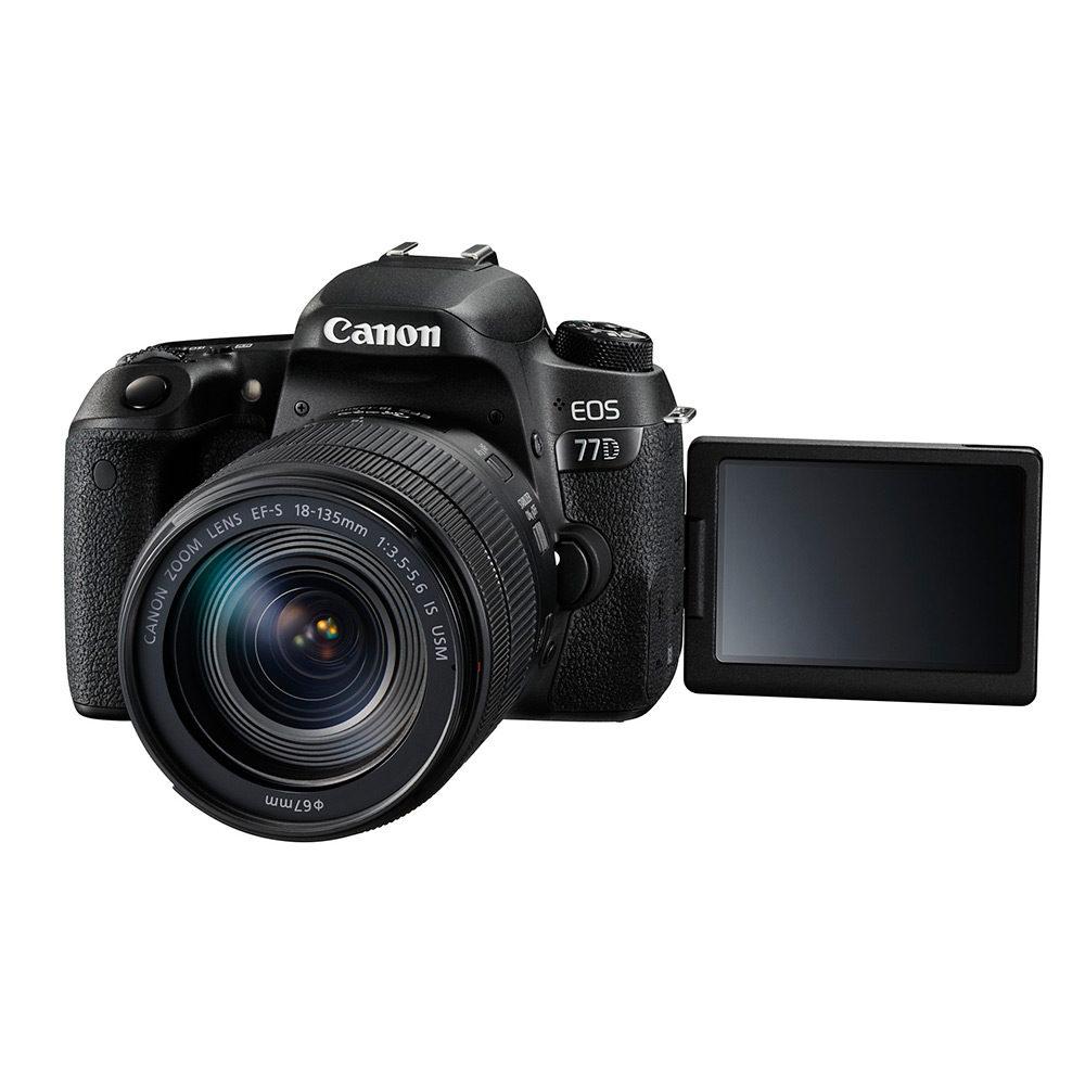 Canon EOS 77D DSLR + 18-135mm IS USM <br/>€ 979.00 <br/> <a href='https://www.cameranu.nl/fotografie/?tt=12190_474631_241358_&r=https%3A%2F%2Fwww.cameranu.nl%2Fnl%2Fp1545075%2Fcanon-eos-77d-dslr-18-135mm-is-usm%3Fchannable%3De10841.MTU0NTA3NQ%26utm_campaign%3D%26utm_content%3DEOS%2Bspiegelreflex%26utm_source%3DTradetracker%26utm_medium%3Dcpc%26utm_term%3DDigitale%2Bcamera%26apos%3Bs' target='_blank'>naar de winkel</a>