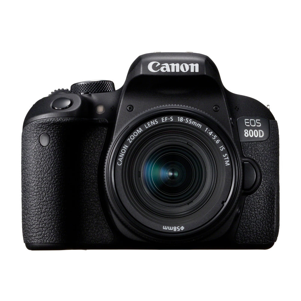 Canon EOS 800D DSLR + 18-55mm f/4.0-5.6 IS STM