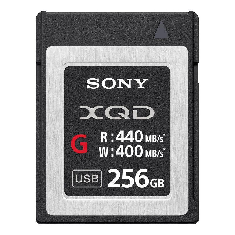 Sony 256GB 440mb/s G-Series High Speed XQD-kaart met korting