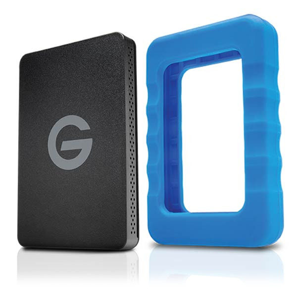 Foto van G-Technology G-Drive ev RaW 2TB harde schijf