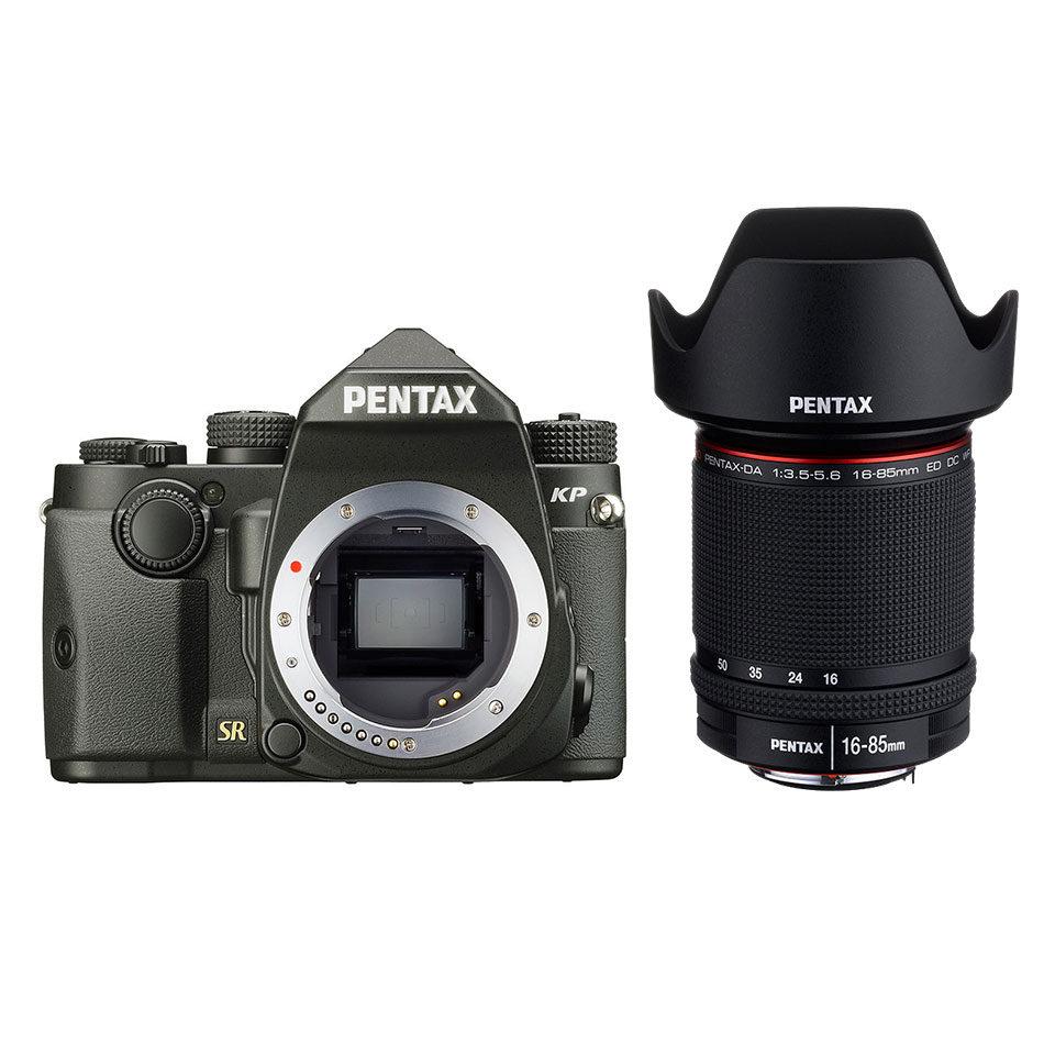 Pentax KP DSLR Zwart + 16-85mm