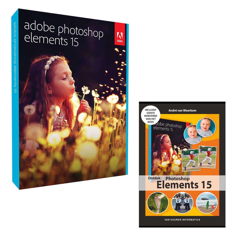 Foto van Adobe Photoshop Elements 15 NL Windows + Ontdek Photoshop Elements 15